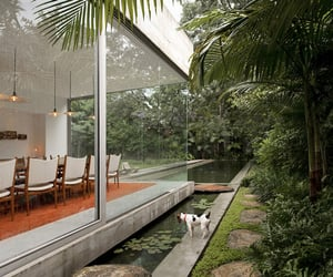 nature, architecture, and house image