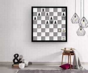 chess, design, and echecs image