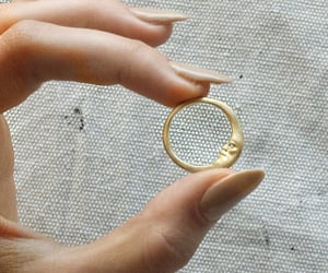 accessory, moon, and nails image