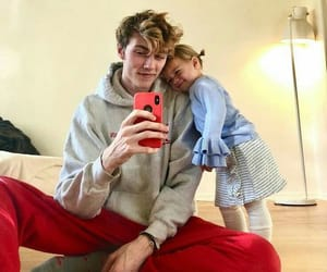 dad, lucky blue smith, and ulzzang image