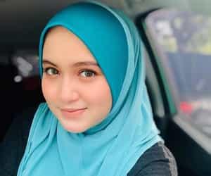 beautiful, hijab, and muslimah image