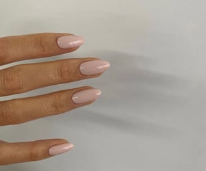 light pink, pastel, and nails image