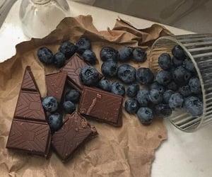 chocolate, blackberry, and yummy image