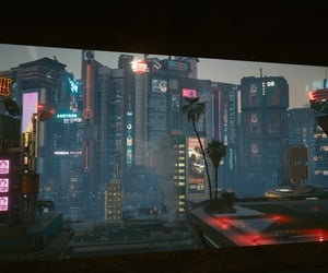 dusk, buildings, and cityscape image