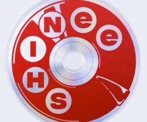 album, cd, and circle image