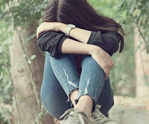 alone, i miss you, and lonely image