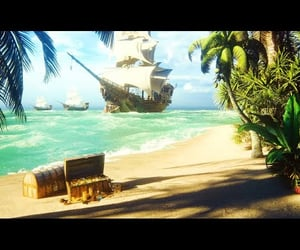 pirate ship, nature sounds, and ocean sounds image