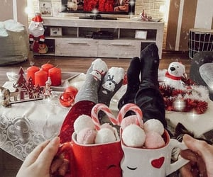 couple, merry christmas, and cute image