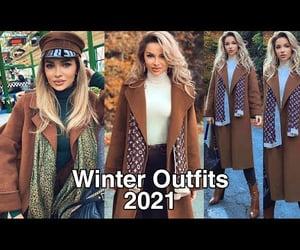 mujer, fashion, and invierno image