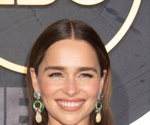 awards, emilia clarke, and emmys image