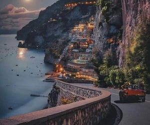beautiful places, mountain, and nightlife image