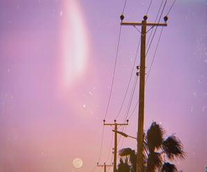 aesthetic, moon, and polaroid image