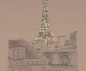 art, artwork, and paris image