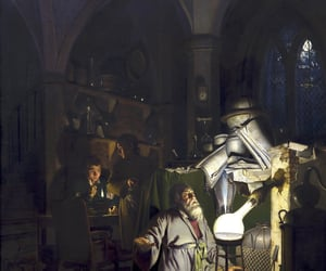 alchemist, painting, and science image