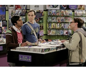series, tv show, and the big bang theory image