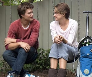 the fault in our stars, ansel elgort, and movie image