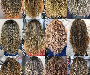 hair, cabelocacheado, and curlycolor image