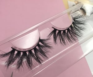 cosmetics and lashes image