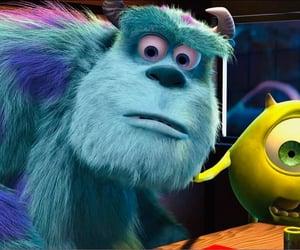 disney, pixar, and monsters inc image