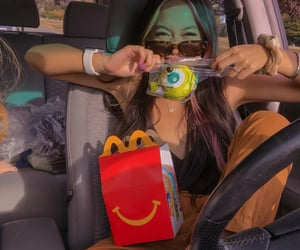 air max, beauty, and fast food image