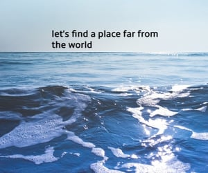 find, far, and ocean image
