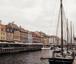 boats, cities, and danish image