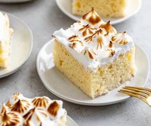 cream, desserts, and eat image
