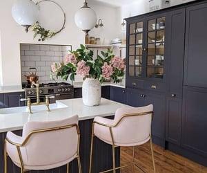 kitchen, art deco, and feminine image