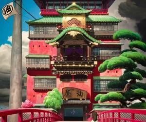 bridge, chihiro, and spiritual image