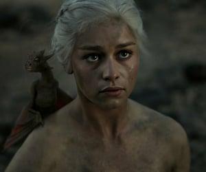 daenerys targaryen, khaleesi, and mother of dragons image