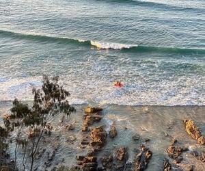 australia, beach, and evening image