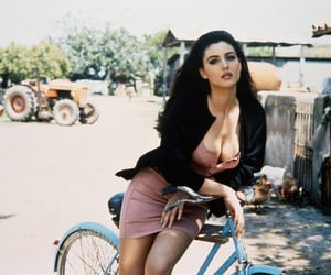 actress, bicycle, and celeb image