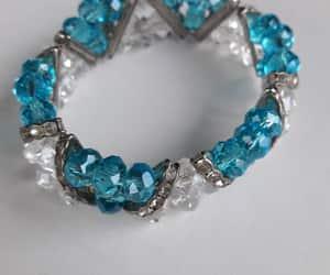 etsy, elastic band, and rhinestone jewelry image