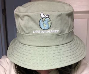 hat, snoopy, and 🌎 image