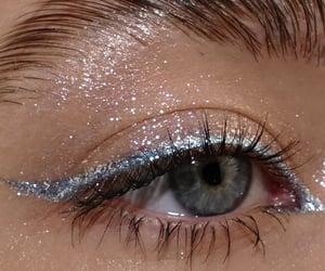 makeup, aesthetics, and eye image