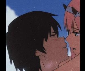 anime, matching, and anime couple image