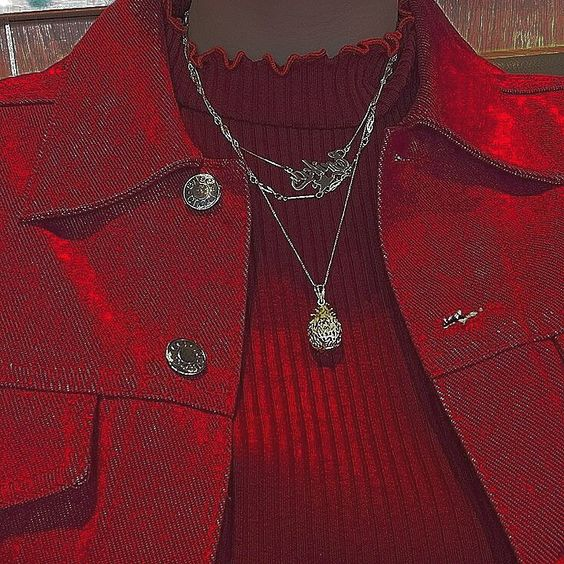red, aesthetic, and style image