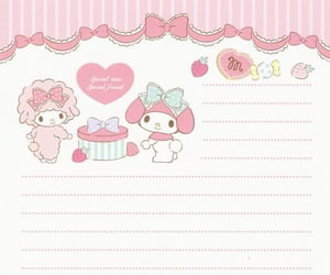 diary, hello kitty, and journal image