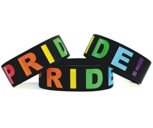 bracelet, ebay, and pride image