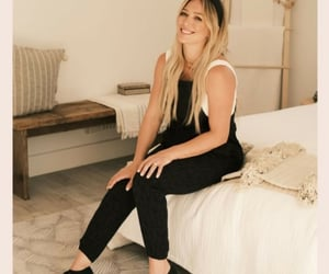 celebrities, Hilary Duff, and influencer image