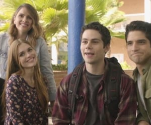 shelley hennig, dylan obrien, and malia tate image