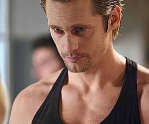 tv show, alexander skarsgard, and bill compton image