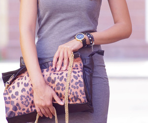 bag, Hot, and leopard image