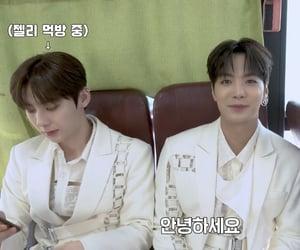 JR, minhyun, and 2hyun image