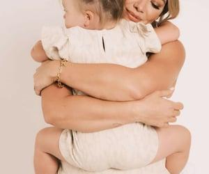 celebrities, Hilary Duff, and motherhood image