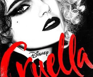 cruella, villain, and disney image