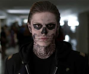 Tate Langdon American Horror Story skull