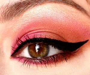 eyeliner, eyes, and eyeshadow image