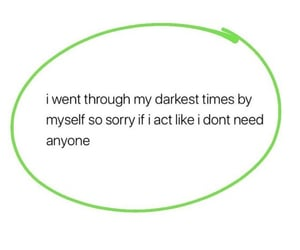 bad, deep, and feelings image