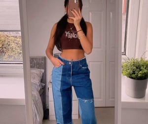 blue jeans, Dream, and fashion image